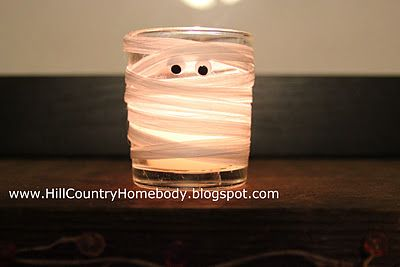 Hill Country Homebody: Mummy votive