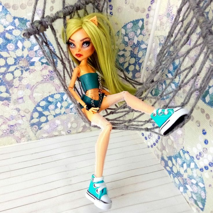 Don't miss my new OOAK Monster High doll! Already available in Poppen Atelier