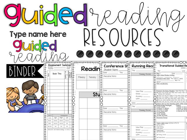 Managing Daily 5 Centers and Guided Reading Resources