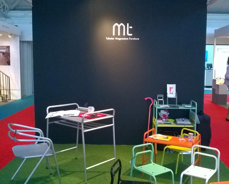 Mt, tubular magnesium furniture, is ready for 100% Design. We are waiting to see with you at stand EB261. #100design