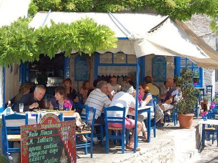 Paradosiakon Taverna in Hydra Town, Hydra Island Greece, Hydra tavernas, tavernas in Hydra