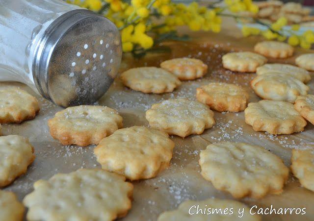 Chismes y Cacharros: Galletas Saladas tipo Ritz
