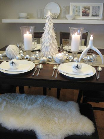 Set The Table For Christmas Dinner With Style This Holiday Season - Christmas Table Settings   Young House Love