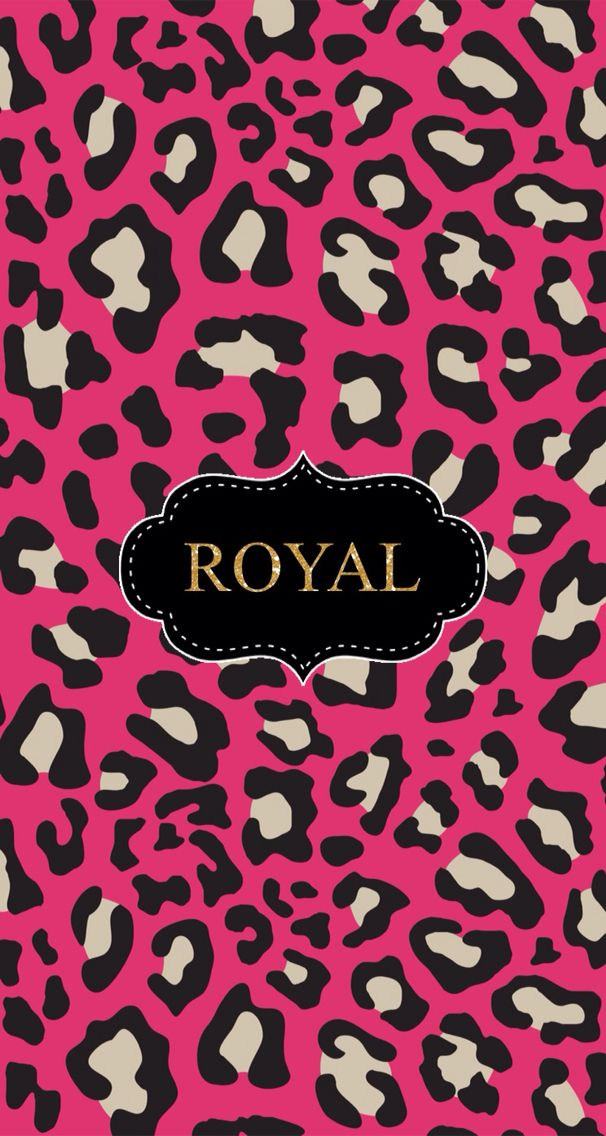 Pink Cheetah Background
