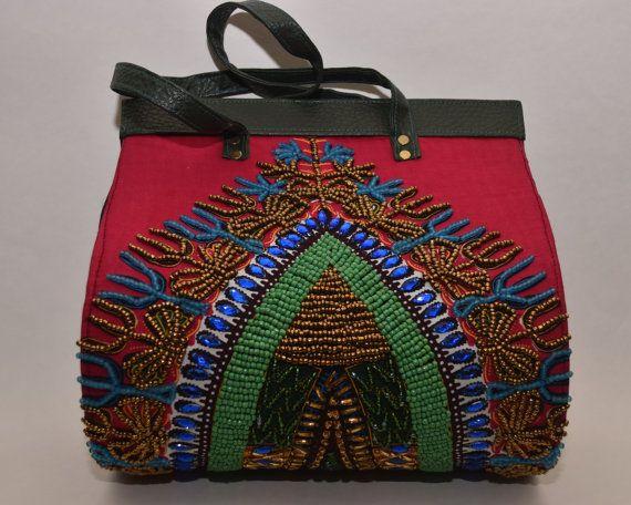 Übergroße Taschen Ankara Bag Perlen-Geldbörse Bags and von Nopoku