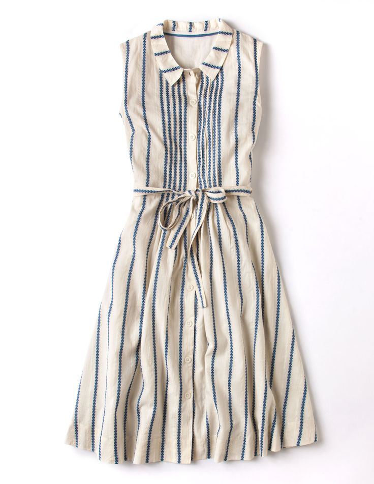 Boden Monte Carlo dress    #style #dress #striped #casual
