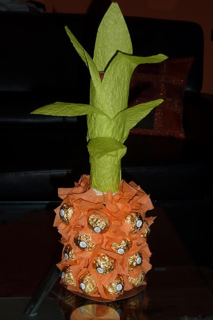 grappa+ferrero rocher=ananas
