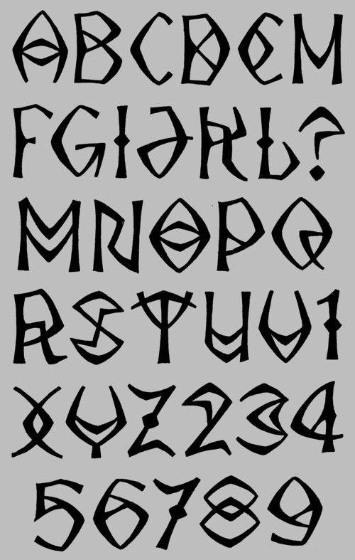 Blake (Showcase - Alphabets)