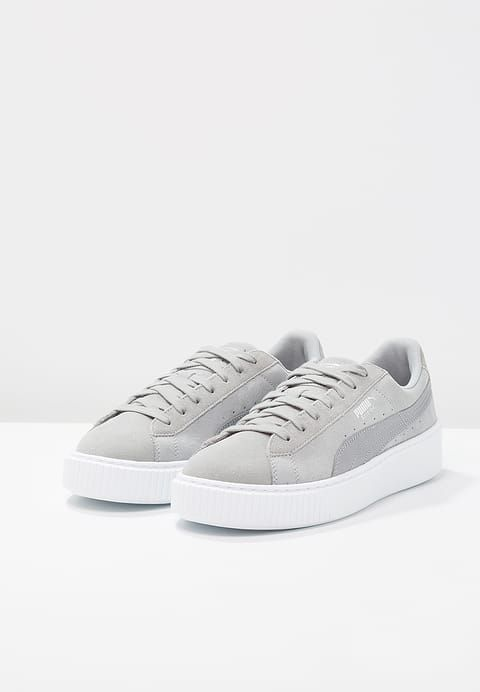 official photos df372 3d88c Sneakers laag Puma SUEDE PLATFORM SAFARI - Sneakers laag - quarry Grijs  €  76,