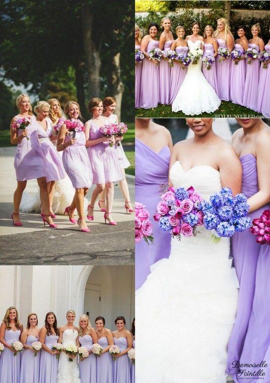 bridesmaid dresses robe de demoiselles d'honneur lila