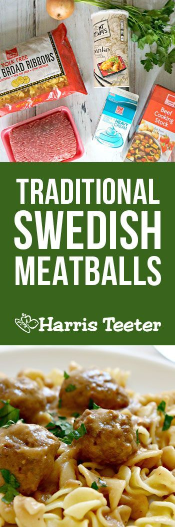 Craving something easy to make but wonderfully delicious?  This Swedish meatball recipe is perfect over butter noodles or potatoes for a brisk fall evening.