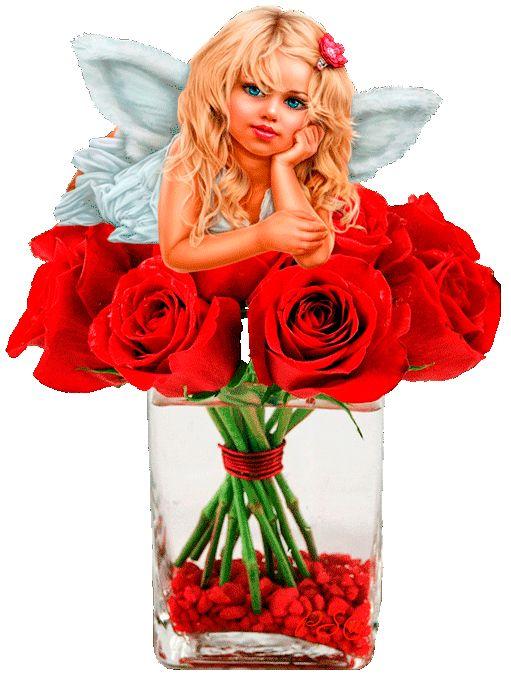 Девочка ангелочек с крыльями - Поздравляю с Днем Ангела