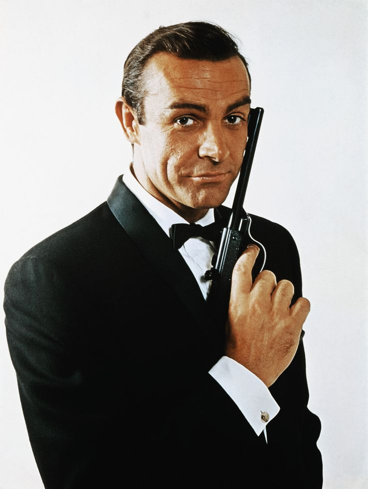 Sean Connery. The days of the first Bond movies....