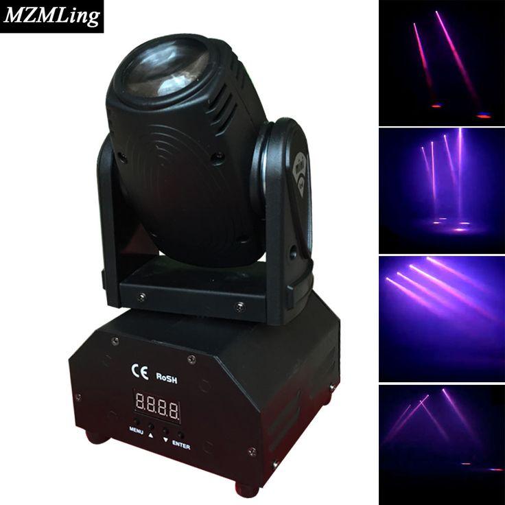 10W CREE RGB Mini Beam Light DMX512 Moving Head Light Professional DJ /Bar /Party /Show /Stage Light LED Stage Machine