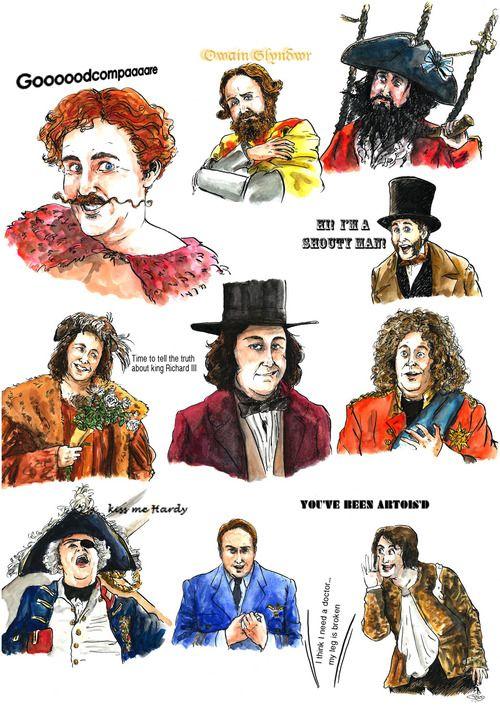 Horrible Histories Jim Howick illustrations