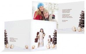 0815-Karten aus dem Schreibwarenladen landen schnell im Müll, eine selbstgestaltete Weihnachtskarte mit persönlichem Foto hingegen wird zu einem Erinnerungsstück und aufbewahrt. Und das wünschen wir uns doch für unsere Weihnachtspost...