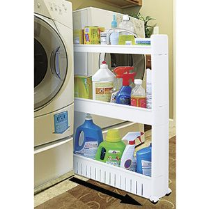 High Quality Slide Out Storage Tower $49.98 Product # JB6032   Slim Pantry Cart Fits In  Tight Spaces