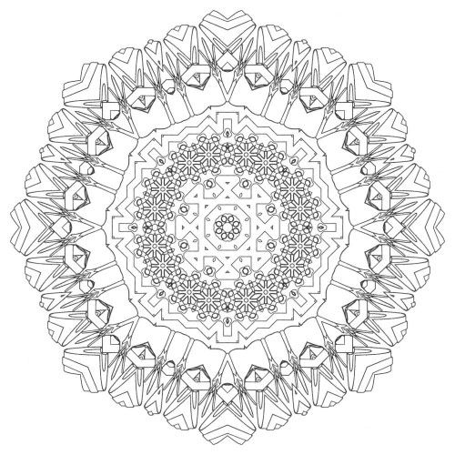 Peace mandala coloring pages for Peace sign mandala coloring pages