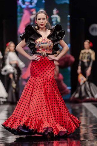 Traje de Flamenca - Barbara-Ramos - Pasarela-Flamenca-Jerez-2016