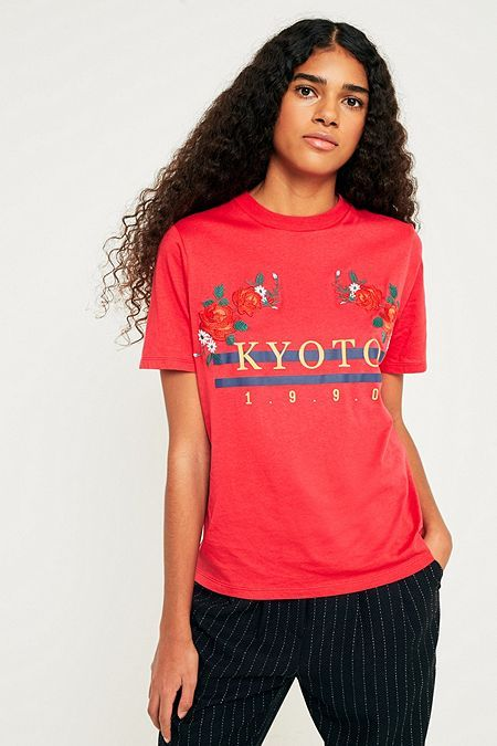 90b40022 Urban Outfitters Kyoto 1990 T-Shirt   2018 style   Urban outfitters ...