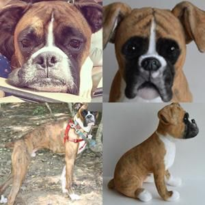 custom boxer stuffed animal plush
