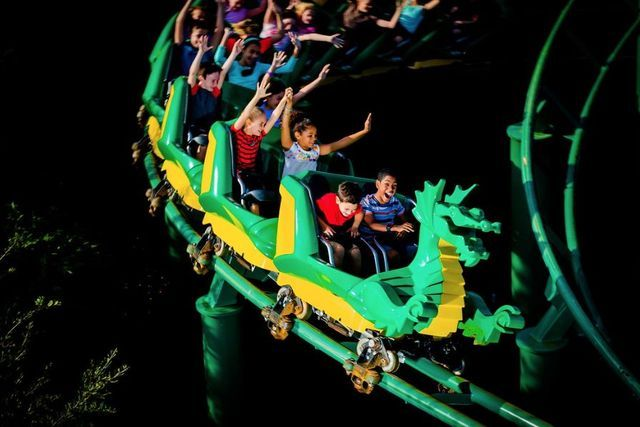 The Dragon Coaster Legoland Florida - Merlin Entertainments Group