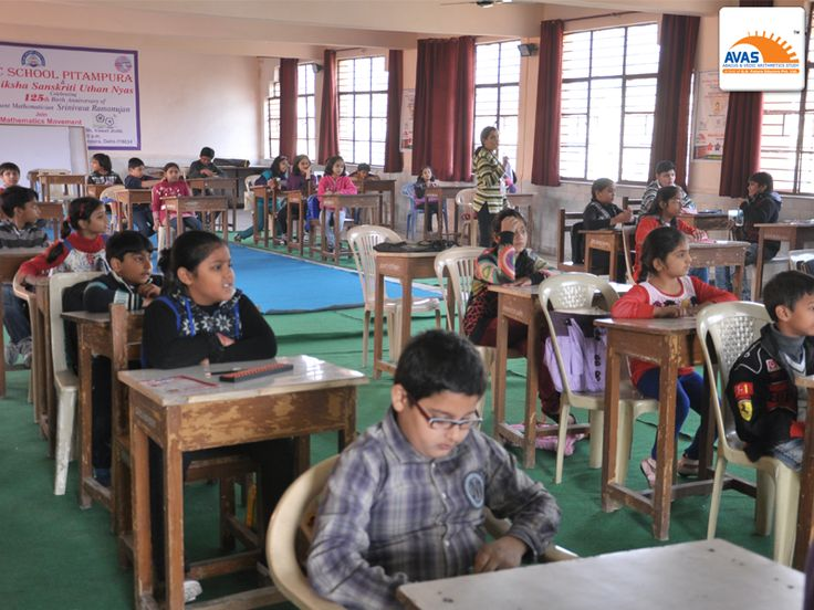 Students national level abacus and vedic math exam