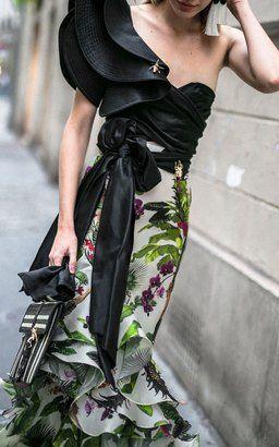 Silk Organza Skirt by Johanna Ortiz
