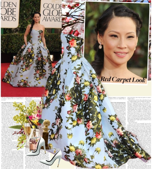 """""""Lucy Liu"""" by alina ❤ liked on Polyvore"""