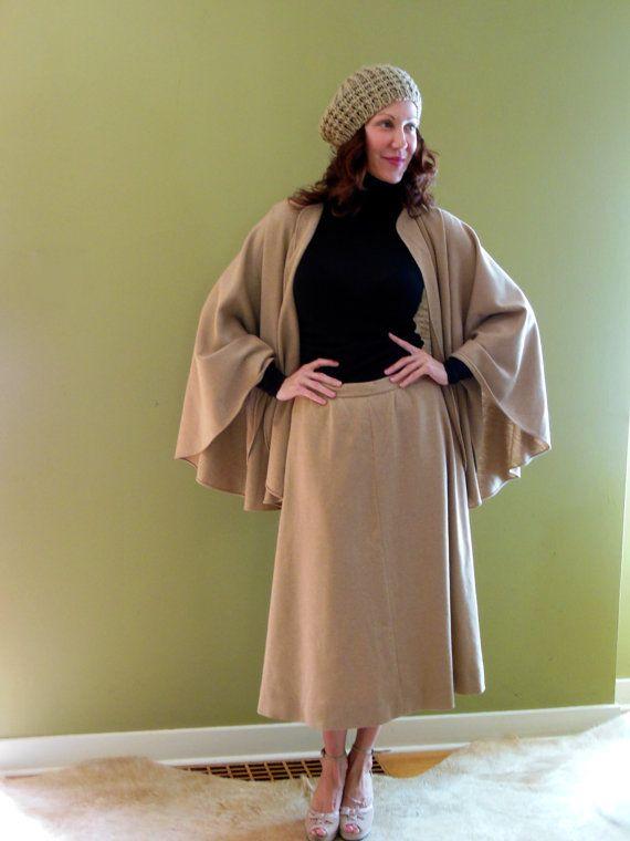 anni 1970 HALSTON vestito / Vintage Halston / abbigliamento anni settanta / anni 70 anni settanta Hipster / Halston / Boho Chic / Boemia principessa / luce peso lana