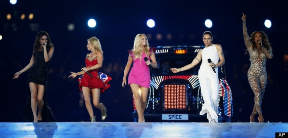 The Spice Girls & Closing Ceremony: Posh, Sporty, Scary, Baby and Ginger Take Us Back At Olympics
