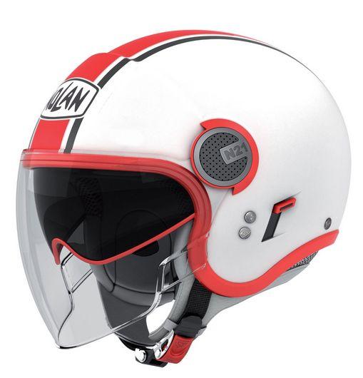 Casco moto Nolan N21 bianco lucido