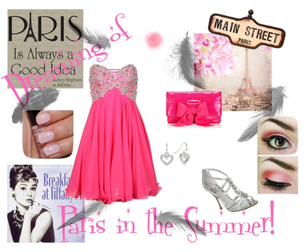Pink Paris Dress Up Pinterest Pink Paris And Polyvore Interiors Inside Ideas Interiors design about Everything [magnanprojects.com]