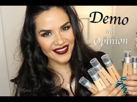 Bissu Nueva Base LW Foundation Demo, Opinión | Mytzi Cervantes - YouTube