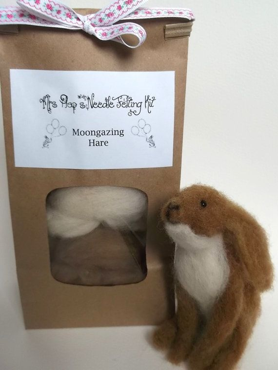 Needle Felted Art and DIY Needle Felting Kits by