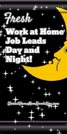 Fresh / Work at Home  Job Leads  Day and  Night! / WorkatHomeMomRevolution.com