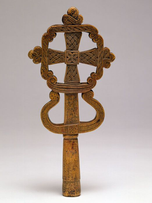 Processional Cross    17th Century    The African Collection    Peabody Essex Museum