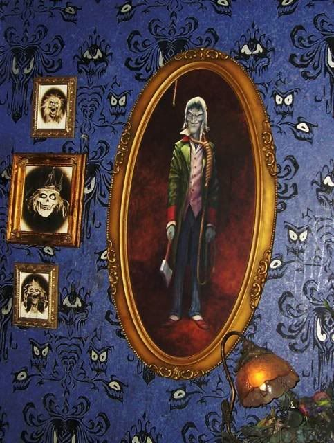 the ghost host from the haunted mansion of course theres always haunted mansion halloweenparty decoration - Halloween Party Decorations