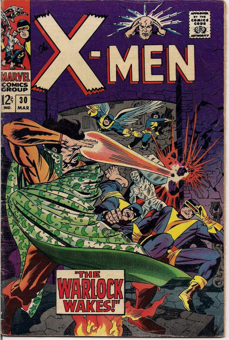 MARVEL XMEN #30 Mutants Silver Age Comics Jack King Kirby & Stan Lee 1967 Roy Thomas VG++++