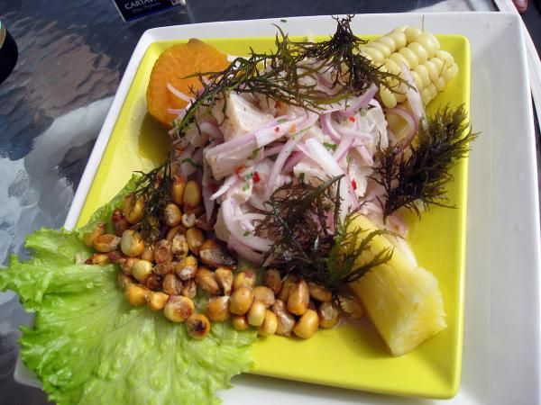 Receta de Ceviche de pescado peruano