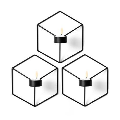 Pov ljusstake vägg 3-pack