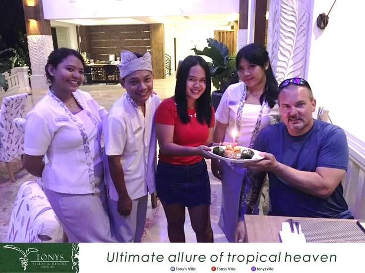 It was our pleasure to give you a surprise in your special day. Happy birthday to you Mr. Patrick Allan. Hope you have a joyful and always happy in every moment in your life. . . Thank you for choosing us for your home and celebrate your special day with us. . . #bali #seminyak #tonysvilla #holiday #vacation #surprise #birthday #gift #celebration #happy #staydifferent #honeymoon #blessing   www.balitonys.com