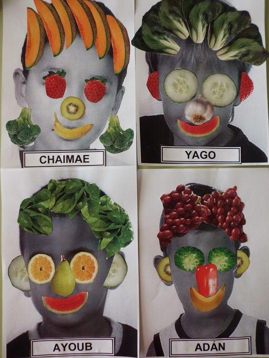 Durant la setmana cultural hem estat treballant els hàbits saludables, els alumnes de P5 hem fet uns autoretrats aprofitant el tema de les fruites inspirant-nos amb l'autor italià Giuseppe Arcimbold...