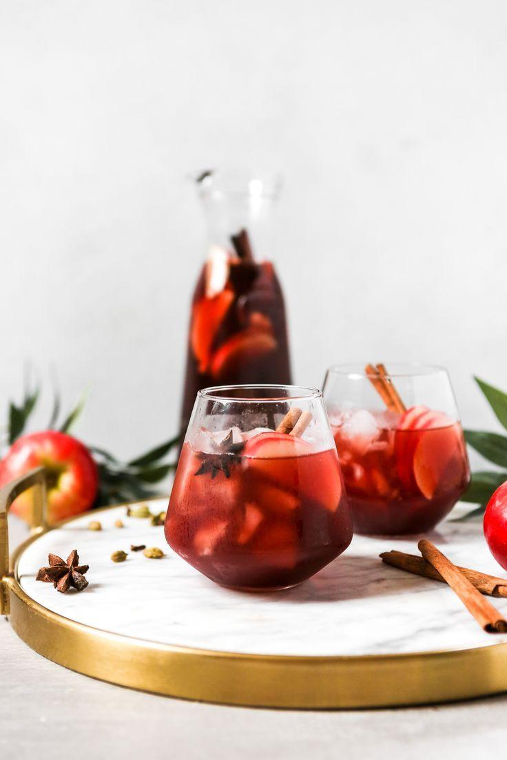 Autumn Red Wine Apple Cider Sangria Zestful Kitchen Recipe Apple Cider Sangria Apple Cider Sangria Recipe Cider Sangria