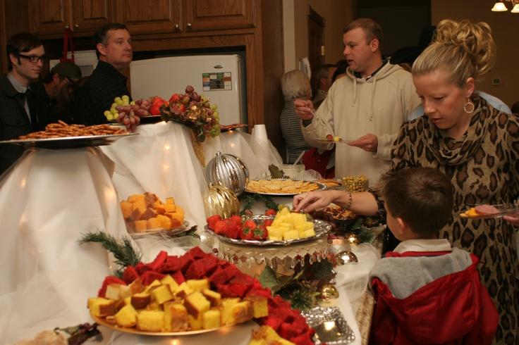 50th Wedding Anniversary Food Table