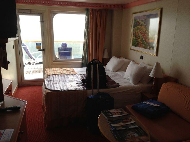 Balcony room on the carnival valor carnival cruise for Alaska cruise balcony room