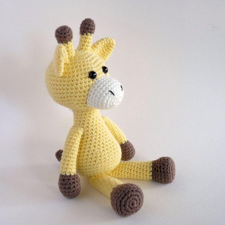 Amigurumi Giraffe, Crochet Toy Giraffe, Plush Giraffe, Crochet Animal, Amigurumi Animal, Cute Giraffe Toy, Giraffe Softie, Australian Made. by MWHandicrafts on Etsy https://www.etsy.com/listing/264578466/amigurumi-giraffe-crochet-toy-giraffe