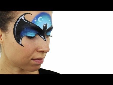 Batman Face Painting Tutorial - YouTube