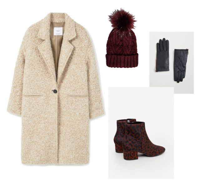 Winter set by aleksandra-hamrol on Polyvore featuring moda, MANGO and Bershka