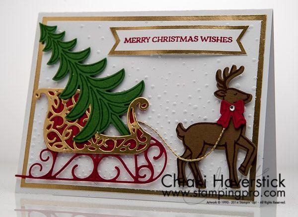 Christmas Card 2016: Santa's Sleigh